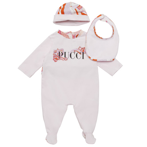 Primary image of Emilio Pucci 3 Piece Babysuit Gift Set