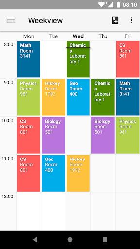 Timetable  screenshots 1