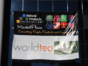 Photo: Entrance to the 2011 World Tea Expo held June 24-26 in Las Vegas, Nevada.