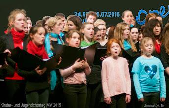 Photo: Kinder- und Jugendchortag 2015 in Rostock