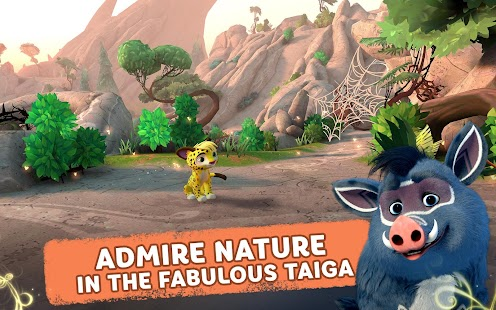 Leo and Tig: Forest Adventures Screenshot