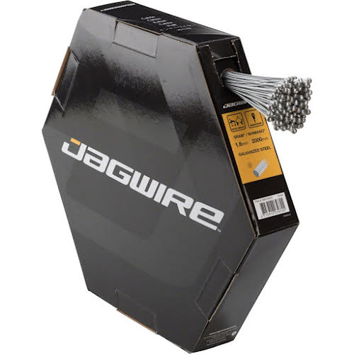 Jagwire Brake Cable Basics 1.6x2000mm Galvanized SRAM/Shimano Road, Box of 100