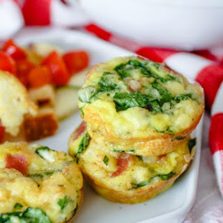 Ham, Swiss, and Spinach Egg Muffin Cups Recipe
