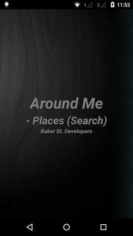 android Around Me - Places (Search) Screenshot 0