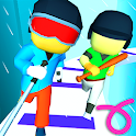 Draw Race 3D - Parkour Game Free icon