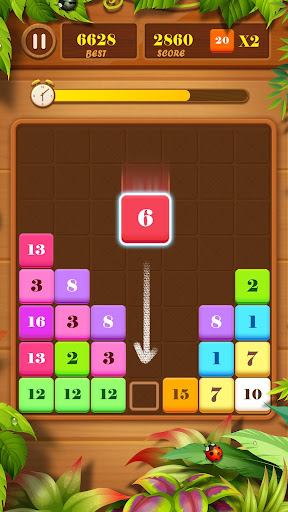 Screenshot for Drag n Merge: Block Puzzle in United States Play Store