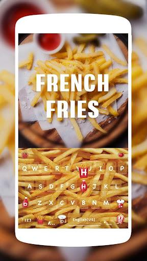 French Fries Keyboard Theme