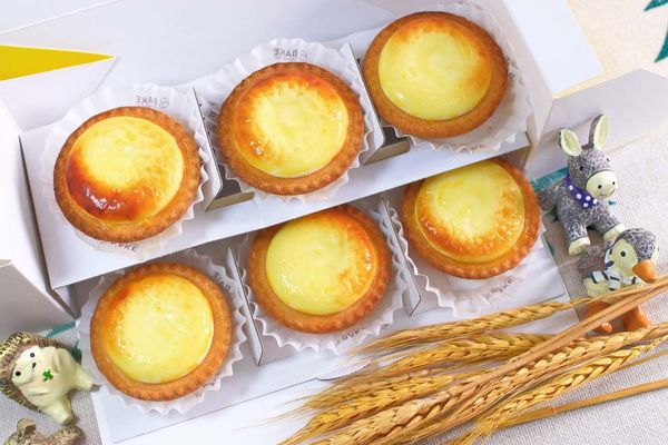 BAKE CHEESE TART-每秒即可賣出一個的超人氣不敗甜點美食