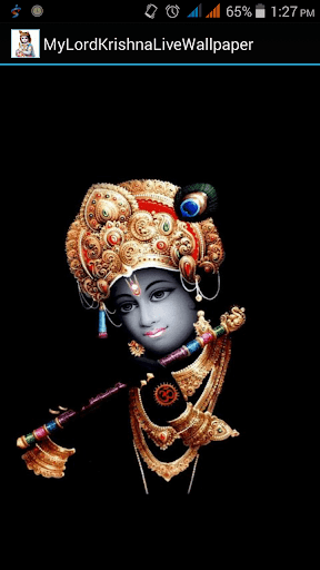 My Lord Krishna Live Wallpaper