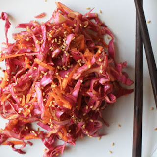 Coleslaw in Chinese-style Dressing.