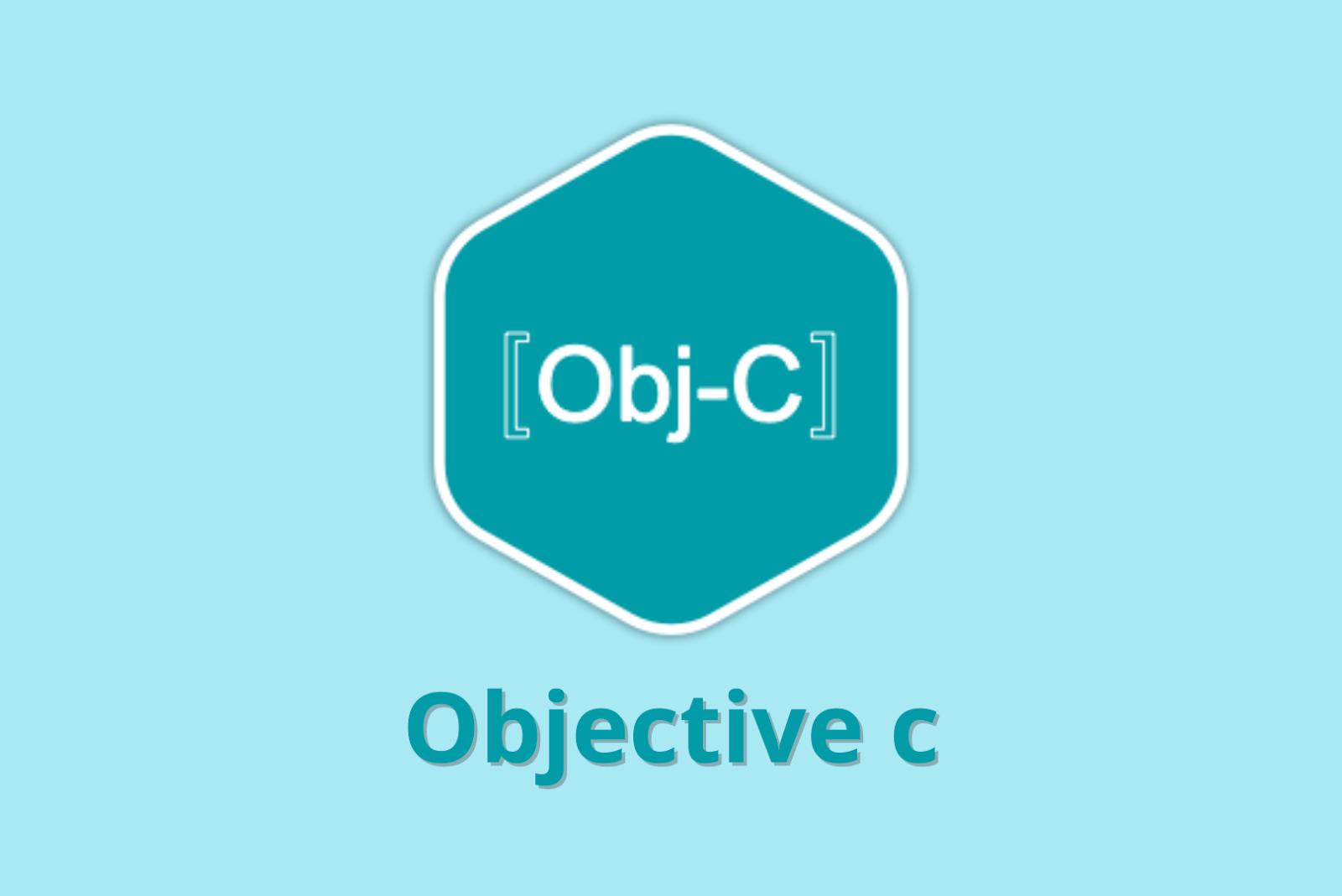 Programming Language Objective C