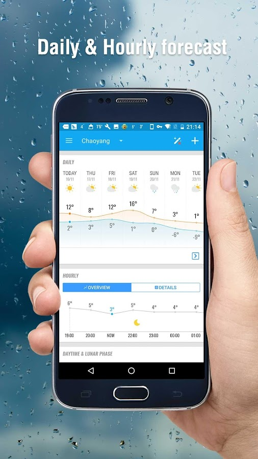 Amber Weather - Local Forecast- screenshot