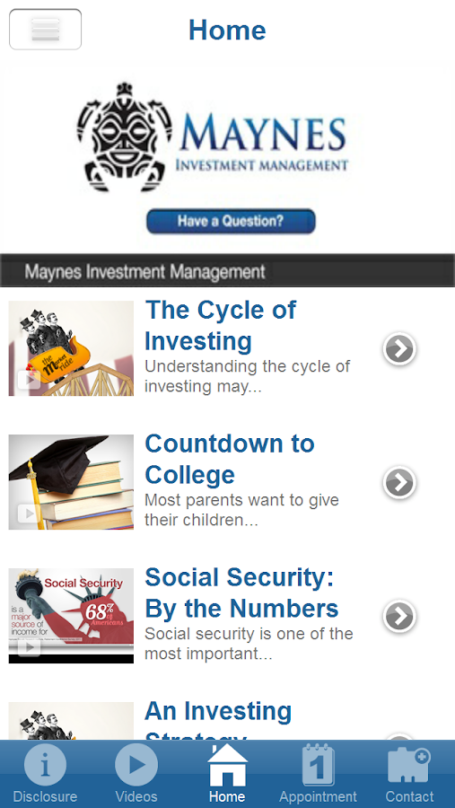 Maynes Investment Management- screenshot