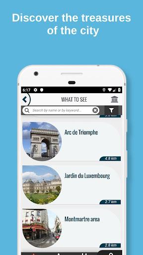 PARIS City Guide, Offline Maps and Tours screenshot 2