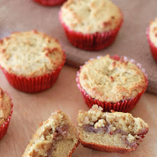 Peanut Butter & Jelly Muffins (Grain & Dairy Free).