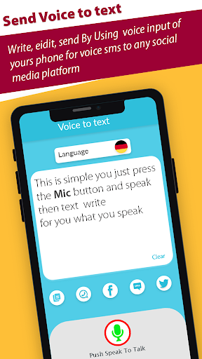 Text message by voice-write text sms by voice hack tool