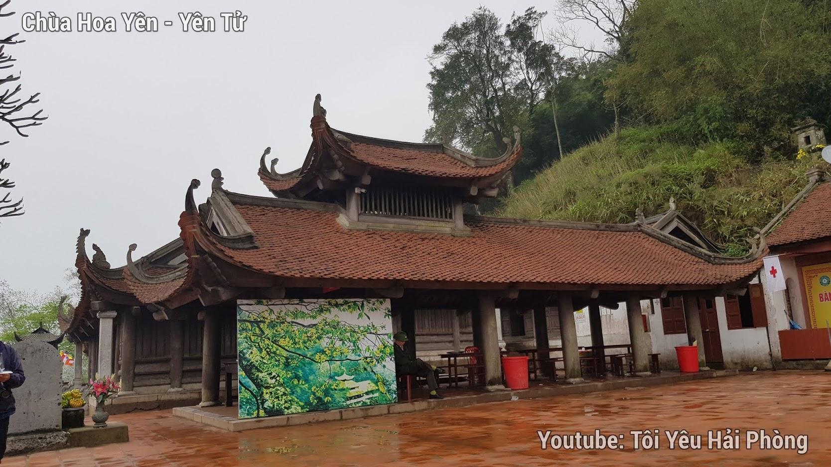 chùa hoa hiên núi yên tử 3