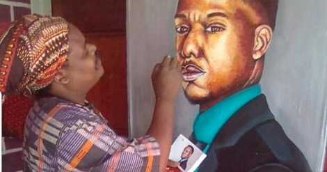 Rasta has got Mzansi talking with his paintings.