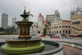 Photo: Fontaine à Kuala Lumpur