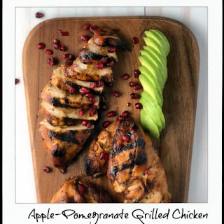Apple-Pomegranate Grilled Chicken Recipe