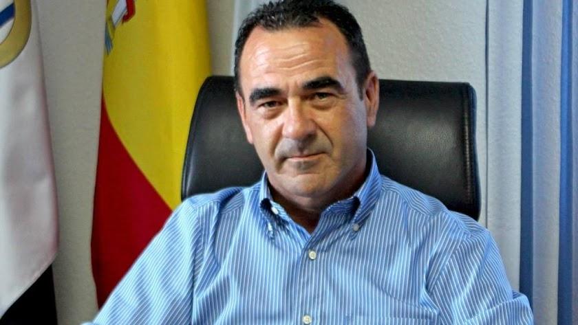 Alcalde de La Mojonera, José Miguel Hernández.