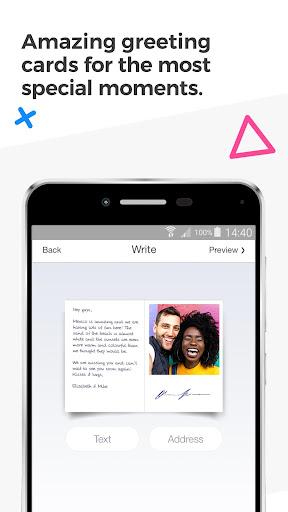 MyPostcard Photo Postcard App and Greeting Cards screenshot 3