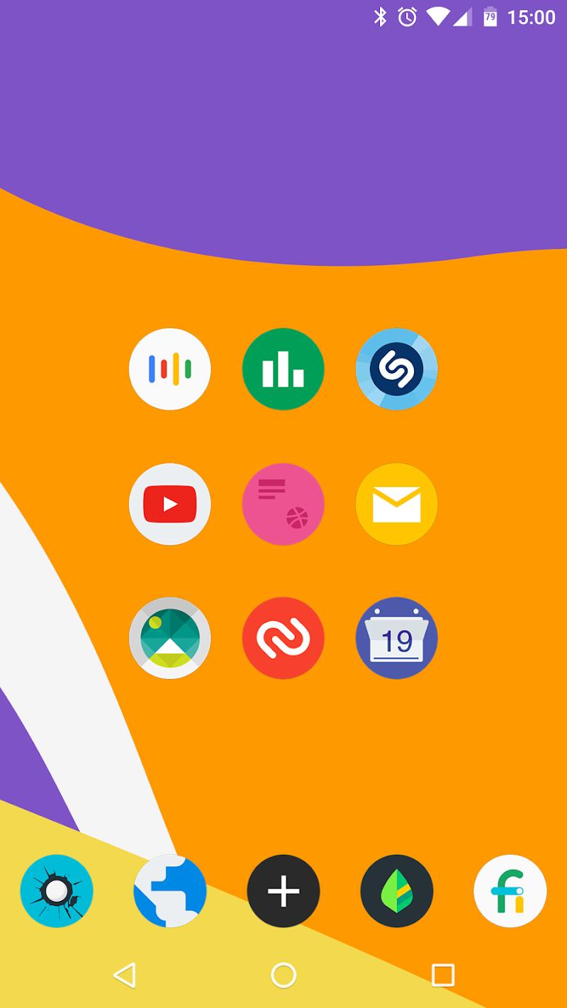 FlatDroid - Icon Pack Screenshot 2