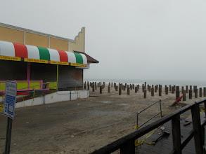 Photo: The boardwalks were all gone