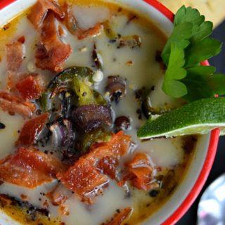 Spicy Cream of Potato Soup.