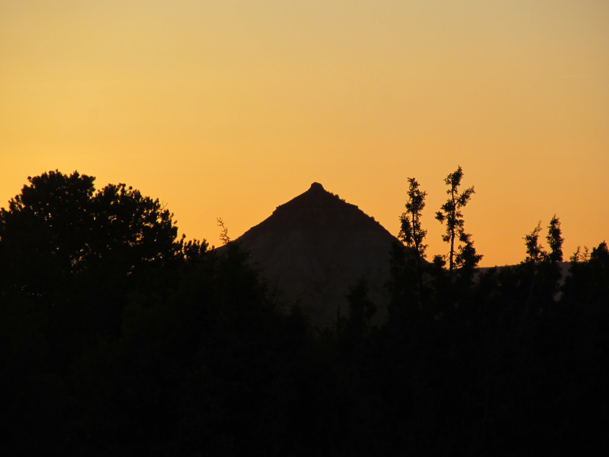 Photo: The Wickiup at sunset