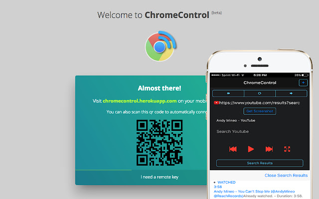 ChromeControl (alpha)