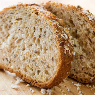 Bread-Machine Whole-Wheat Bread.