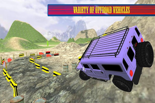 Offroad Parking 3D Challenge - screenshot