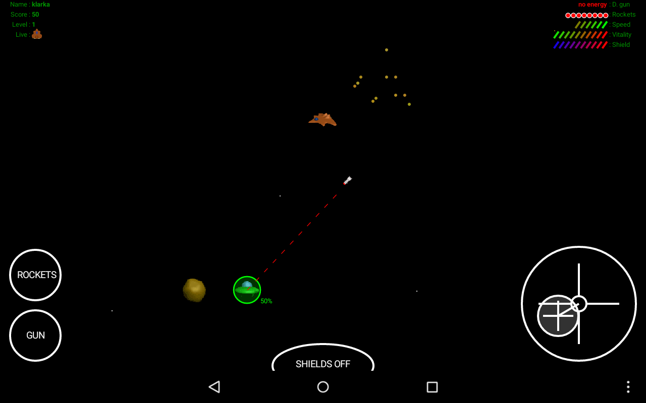 Destroy Aliens- screenshot