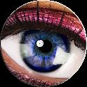 Eye scanner simulator icon