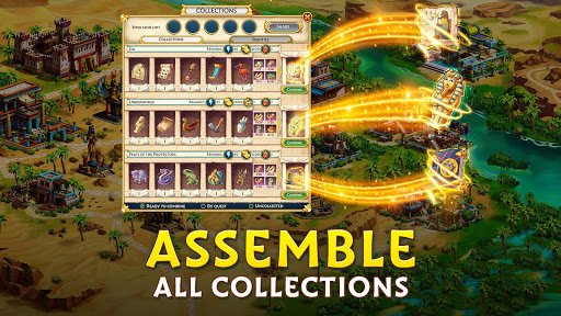 Pyramid of Mahjong: A tile matching city puzzle apkdebit screenshots 14