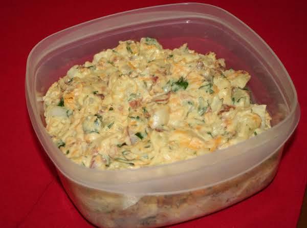 Cheddar Bacon Potato Salad Recipe