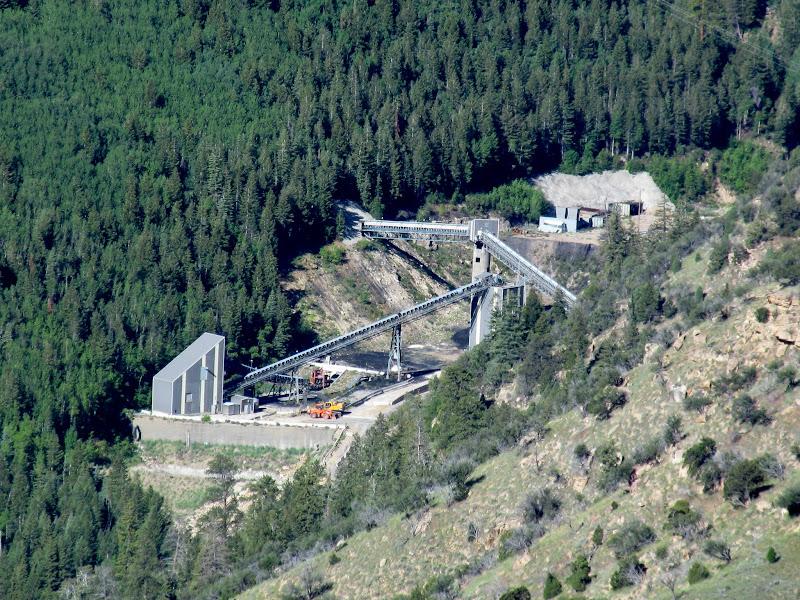 Photo: Crandall Canyon Mine