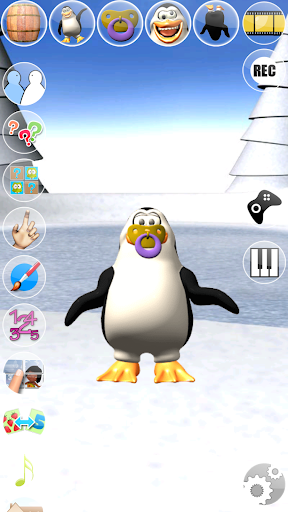 Sweet Little Talking Penguin apkpoly screenshots 6