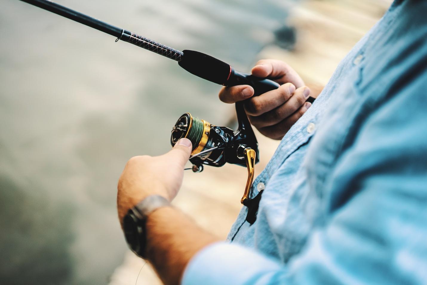Tackle With Rod Issues