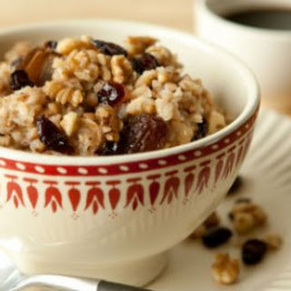 Apple Oatmeal with Buckwheat.