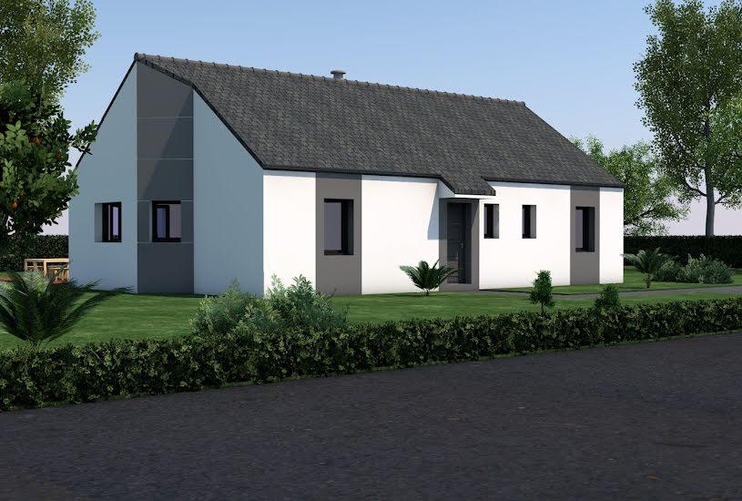Vente Terrain + Maison - Terrain : 413m² - Maison : 106m² à Nivillac (56130)