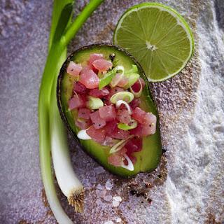 Tuna and Avocado Salad.