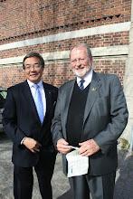 Photo: Mr. Koji Sekimizu, Secretary-General of the IMO and Chancellor of WMU, with Dr. Björn Kjerfve, President of WMU.