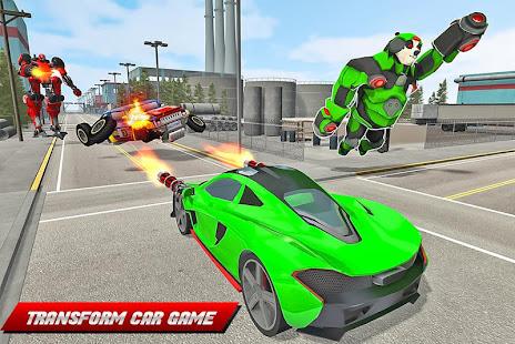 Panda Robot Helicopter Transform Battle Games for PC-Windows 7,8,10 and Mac apk screenshot 11