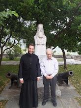 Photo: Ο Γεώργιος, ηγούμενος της μονής Οσίου Λουκά