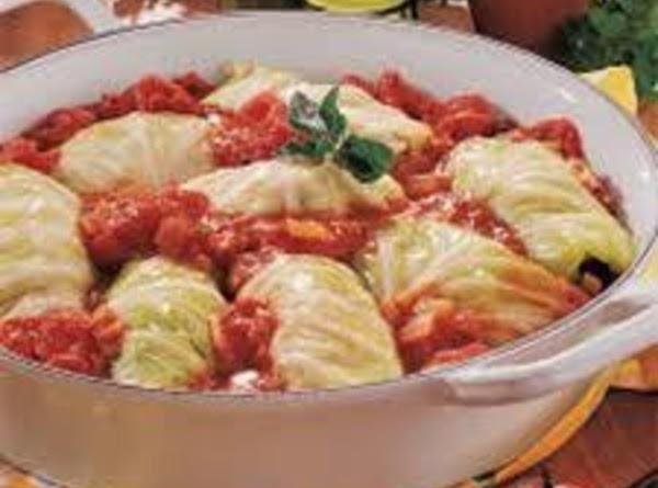 Hungarian Cabbage Rolls Recipe