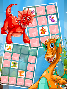 Dinosaur Match Card 1.0.4 Mod APK Updated Android 2
