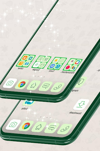 Launcher Theme for Whatsapp 1.264.1.24 screenshots 2
