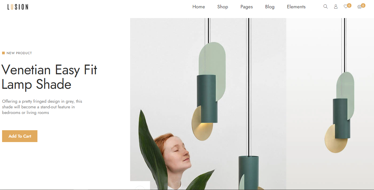 Lusion- Woocommerce furniture themes